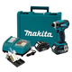 Makita LXDT04X1 18V Cordless LXT Lithium-Ion Impact Driver Kit with FREE Impact Gold 11 Pc. Bit Set