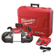 Milwaukee 2729-21 M18 FUEL 18V Cordless Lithium-Ion Deep Cut Band Saw with XC 5.0 Ah Battery