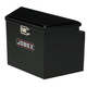 Delta 422002 33 in. Long Steel Trailer Tongue Box - Black