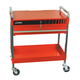 Sunex 8013A Service Cart with Locking Top and Drawer (Red)