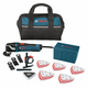 Bosch MX30EC-31 Multi-X 3.0 Amp Oscillating Tool Kit with 31 Accessories