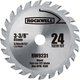 Rockwell RW9231 VersaCut 3-3/8 in. 24T Carbide-Tipped Circular Saw Blade