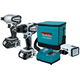 Makita LCT306W 18V Cordless Compact LXT Lithium-Ion 3-Piece Combo Kit