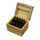 JET 650211 20-Piece TiN Titanium Nitride Coated Single End Mill Set