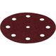 Festool 499107 5 In. P180-Grit Rubin 2 Abrasive Sheet 10-Pack