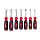 Milwaukee 48-22-2507 7-Piece Magnetic HollowCore SAE Nut Driver Set