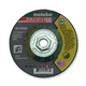 Metabo 655792000-25 4-1/2 in. x 1/8 in. ZA24T Type 27 Pipeline Grinding/Notching/Cutting Wheels (25-Pack)