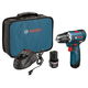 Factory Reconditioned Bosch PS32-02-RT 12V Max Cordless Lithium-Ion 3/8 in. Brushless Drill Driver Kit
