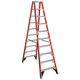 Werner T7410 10 ft. Type IAA Fiberglass Twin Ladder