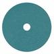 Metabo 656363000-25 7 in. ZA60 Resin Fiber Closed Coat Abrasive Discs (25-Pack)