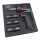 m7 Mighty Seven NC-4620QN3 1/2 in. Drive Air Impact Wrench (2 in. Anvil) with 3-Piece SAE/Metric Socket Set