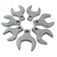 Sunex Tools 9740 7-Piece 1/2 in. Drive Metric Jumbo Straight Crowfoot Wrench Set