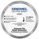 Dremel US540-01 3-1/2 in. Tile Diamond Blade