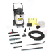 Shop-Vac 9700210 10 Gallon 3 Peak HP Stainless Steel Industrial Heavy-Duty Dolly Style Wet/Dry Vacuum