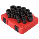 Sunex Tools 2640 19-Piece 1/2 in. Drive SAE Impact Socket Set