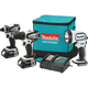 Makita CT300RW 18V LXT 2.0 Ah Cordless Lithium-Ion 3-Tool Combo Kit