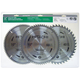 Hitachi 115166 10 in. 40T, 60T and 80T Thin-Kerf Miter Saw Blade 3-Pack