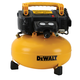 Dewalt DWFP55126 0.9 HP 6 Gallon Oil-Free Pancake Air Compressor