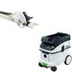 Festool PAC561438 Plunge Cut Circular Saw with CT 36 AC AutoClean 9.5 Gallon Mobile Dust Extractor