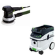 Festool PAC571903 6 in. Random Orbital Finish Sander with CT 36 AC AutoClean 9.5 Gallon Mobile Dust Extractor