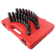 Sunex 2637 20-Piece 1/2 in. Drive SAE/Metric Master Hex Impact Driver Set