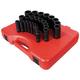 Sunex Tools 2646 26-Piece 1/2 in. Drive Deep Well Metric Impact Socket Set