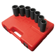Sunex Tools 2839 7-Piece 1/2 in. Drive Metric Deep Spindle Nut Impact Socket Set