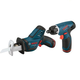 Bosch CLPK23-120 12V Max Cordless Lithium-Ion 1/4 in. Hex Impact Driver and Reciprocating Saw Combo Kit
