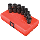 Sunex 3654 7-Piece 3/8 in. Drive SAE Universal Impact Socket Set