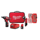 Milwaukee 2482-22 M12 12V Cordless Lithium-Ion 2-Tool Combo Kit with Bit Set