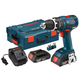 Bosch HDS182-02L Compact Tough 18V Cordless Lithium-Ion Brushless 1/2 in. Hammer Drill Driver Kit with L-BOXX 2 Storage Case
