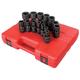 Sunex 2644 14-Piece 1/2 in. Drive SAE Universal Impact Socket Set
