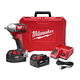Factory Reconditioned Milwaukee 2659-82 M18 18V Cordless Lithium-Ion 1/2 in. Impact Wrench Kit with Pin Detent