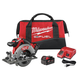 Factory Reconditioned Milwaukee 2730-82 M18 FUEL 18V Cordless 6-1/2 in. Circular Saw with 2 REDLITHIUM Batteries