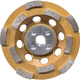 Makita A-96198 4-1/2 in. Anti-Vibration Double Row Diamond Cup Wheel