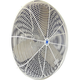 Twister TW20W-PB 20 in. Oscillating OSHA Compliant Pedestal Circulation Fan