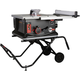 SawStop JSS-MCA 120V 1.5 HP 15 Amp 10 in. Jobsite Portable Table Saw with Stand