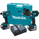 Makita XT218 18V LXT Cordless Lithium-Ion 2-Piece Combo Kit