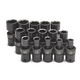 SK Hand Tool 34350 15-Piece 1/2 in. Drive 6-Point Metric Swivel Impact Socket Set