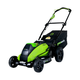 Greenworks 2501302 40V G-MAX Cordless Lithium-Ion 19 in. 3-in-1 Lawn Mower (Bare Tool)