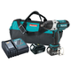 Makita XWT04M 18V LXT 4.0 Ah Cordless Lithium-Ion 1/2 in. High Torque Impact Wrench Kit