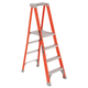 Louisville FXP1704 4 ft. Type IA Duty Rating 300 lbs. Load Capacity Fiberglass Platform Step Ladder