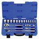 KT PRO A4503MR 19-Piece 1/2 in. Drive 6-Point Metric Standard Socket Set