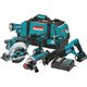 Makita XT601 18V LXT Cordless Lithium-Ion 6-Piece Combo Kit