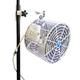 Versa-Kool VK12TF-SPM-W 12 in. Deep Guard Pole-Mounted Circulation Fan