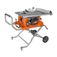 Factory Reconditioned Ridgid ZRR4513 15 Amp 10 in. Portable Table Saw with Mobile Stand