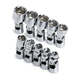 SK Hand Tool 1335 10-Piece 1/4 in. Drive 6 Point Flex Metric Socket Set
