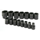 SK Hand Tool 4035 15-Piece 1/2 in. Drive 6 Point Standard SAE Impact Socket Set