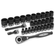 Grey Pneumatic 82229M 29-Piece 1/2 in. Drive 12-Point Metric Duo Impact Socket Set
