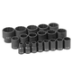 Grey Pneumatic 1719 19-Piece 1/2 in. Drive SAE Master Impact Socket Set